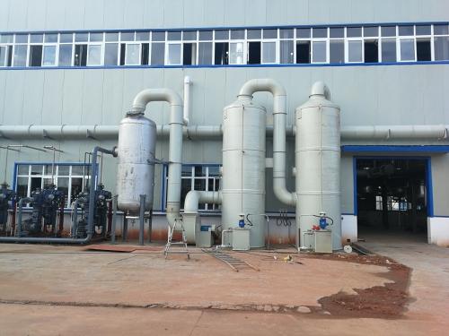 简述什么是废气吸收塔和它的结构