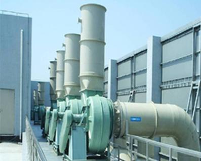 废气吸收塔运行过程