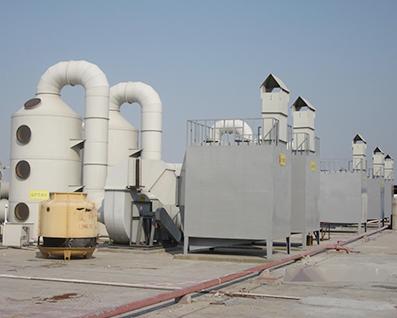 周边废气成套吸收设备
